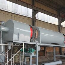 連續式木片炭化爐木屑炭化機木料變炭粉上門安裝指導圖片