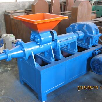 全自动炭粉加工设备环保型兰炭制棒机挤压式煤泥制棒机