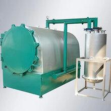 大型竹木炭化爐操作簡單臥式圓筒炭化設備新型無煙椰殼炭化爐圖片