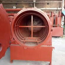 小成本农村创业卧式杂木炭化炉单台设备创业收益好原木炭化炉图片