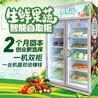 中吉社區生鮮果蔬開門自取售貨柜1000L雙倍容量稱重