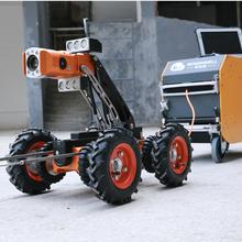 市政雨污泥排水管道CCTV检测机器人,管道检测机器人。图片