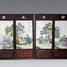 民国瓷板画拍卖价格与价值图片
