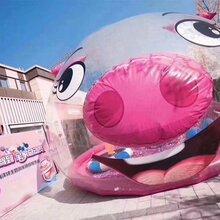 青和文化粉红猪堡猪猪六一儿童乐园厂家定制直销大型营收道具pvc胶料定制