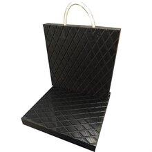 吊车支腿垫板带花纹防滑耐磨聚乙烯塑料支腿垫板块