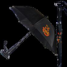 MP3音樂語音照明閃光報警收音拐杖雨傘圖片
