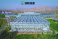 漢中陽光板玻璃溫室廠家報價