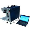 定制亳州和县金属名片停车牌分体式激光打标机一体式光纤激光打标机