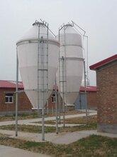 湖南玻璃钢饲料塔自动养殖设备-耐腐蚀-高强度图片