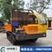 廠家生產8噸履帶運輸車大馬力履帶翻斗車新型農業爛泥地裝卸車