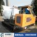 生產履帶式混凝土運輸車水田混凝土攪拌罐車2方攪拌罐車廠家