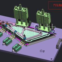北京工装夹具ST-GZ9106工程机械配套专用夹具非标订制工装图片