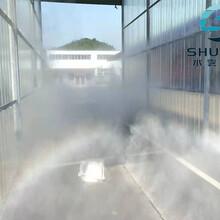 汽车消毒通道喷雾消毒、车辆通道喷雾消毒图片