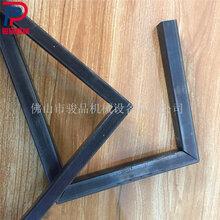 高速45度铁方管切角机一次成型90度拼接管材拼接正方形折角机图片