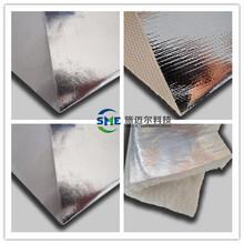 鋁箔玻纖布廠家隔熱保溫玻纖復合鋁箔布施邁爾防火轉簾用鋁箔布圖片