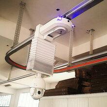 吊挂式智能轨道巡检机器人图片