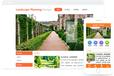 园林设计公司网站建设模版-长沙网站设计长沙网站制作低至200元/年