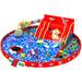互动砸球投影儿童动感游戏砸海洋球3D游戏投影墙面砸球儿童游乐