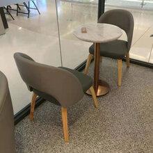 西餐厅时尚餐桌餐椅,奶茶店欧式靠背椅子,深圳实木餐椅批发