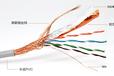超五類室外阻水網線FSCAT5E雙層護套無氧銅8芯室外防水網線