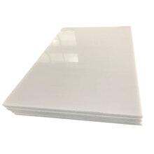 高耐磨聚乙烯板高密度5mm厚聚四氟乙烯板白色阻燃高分子PE板