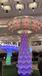 福建互动感应发光蘑菇树商城大型互动七彩蘑菇树青和文化厂家定制直销