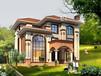 BJ363農村三層樓房設計圖及效果圖,復式磚混結構