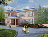 J264欧式二层带露台小别墅设计施工图及效果图