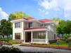 BJ265鄉村經濟型二層農村自建房屋設計圖紙