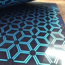 优质不锈钢蚀刻板高端不锈钢镀铜板不锈钢蚀刻板不锈钢花纹板图片