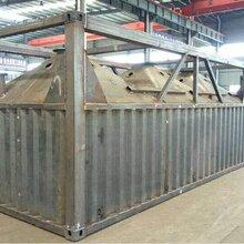 供应福建省50吨卧式水泥仓价格表卧式80吨散装水泥罐加厚卧式水泥仓生产厂家