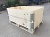 廠家加工出口實木IPPC圍板箱澎湃供應定做倉庫周轉實木圍欄箱修改