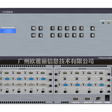 16進16出高清混合插卡矩陣切換器FLX-MMD圖片