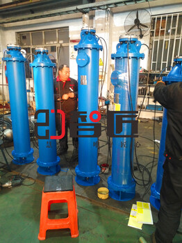 重慶下吸式潛水泵安裝示意圖