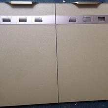 隐形边框晶钢那个诡异橱柜门板钢化玻璃橱柜门图片