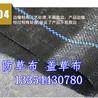 丝带编织制品厂家直销90克抗氧化PP除草布塑编布园艺地布果树园林防草布