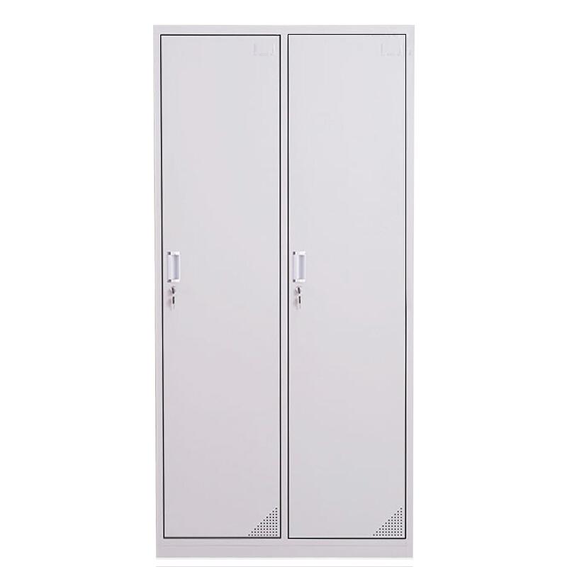 洛阳友时员工宿舍办公室二门储物更衣柜定制