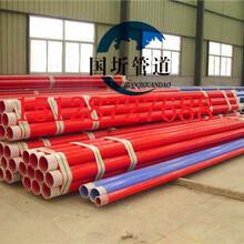 涂塑复合防腐钢管价格图片
