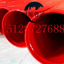 眉山1220螺旋涂塑复合防腐钢管厂家图片