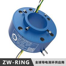 哪里可以低价买到空心轴直径50mm压模机导电滑环?