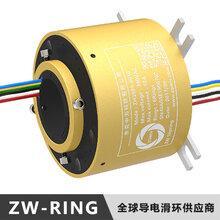 ZW-RING品牌摩天轮导电滑环排名厂家推荐安装方式