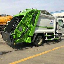云南省保山市东风多利卡6方垃圾车,压缩垃圾车厂家价格图片