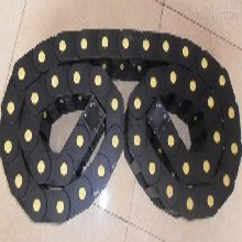 工程塑料拖链钢制拖链尼龙45系列封闭式拖链沧州宇烁厂家直销