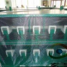廠家供應現貨1.52米寬100米長pvc透明夾網布高強絲透明網格布
