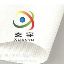 生產供應PVC帶底膜噴繪網,白色網格布