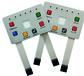定制薄膜開關面板電風扇面貼電力儀表PVC面貼電源開關安鍵面板
