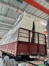 供应100mm冷库板聚氨酯外墙保温板PU彩钢夹芯板厂家