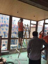 山东有名的的阳光房安装——墨铭门窗