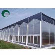 圣亚制造PC连栋智能温室制造pc阳光板温室设计及施工