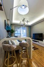 离石拜尔建筑装饰130平米三室一厅一卫零甲醛简约家装装修图
